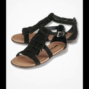 Minnetonka Maui Leather Sandals